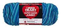 RED HEART 073650013508 Super Saver Jumbo Yarn