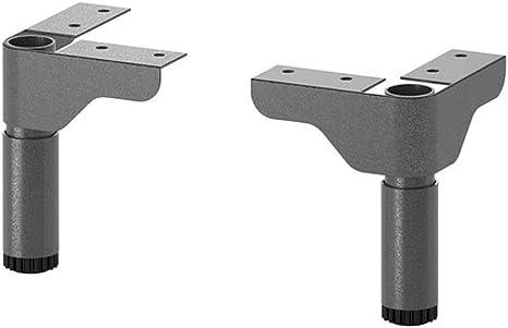 Ikea SILVERAN 2 pack 2 pack Leg grey