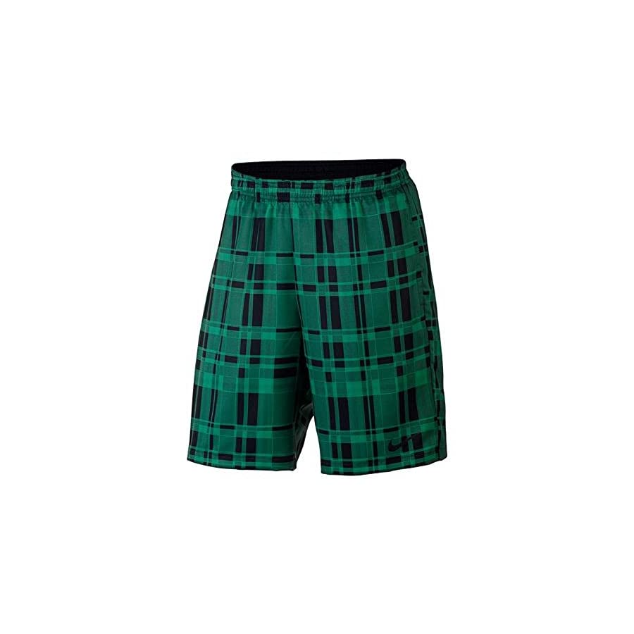 Nike Men's Court Dry 9 Inch Plaid Tennis Shorts (Large)