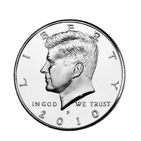 Tour de magie - Demi-dollar (à l'unité)