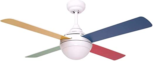 SULION Ventilador de Techo Balloo Colores: Amazon.es: Hogar