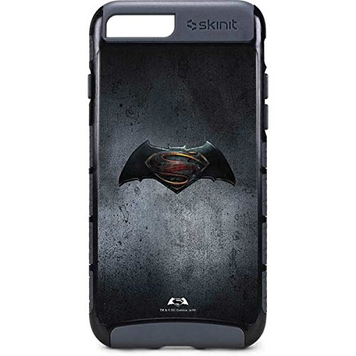 Batman v Superman iPhone 8 Plus Case - Batman vs Superman Logo | DC Comics X Skinit Cargo Case at Gotham City Store