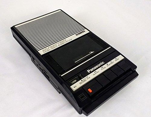 Panasonic Slim Line Portable Cassette Recorder Speaker AC & Battery Model RQ-2104