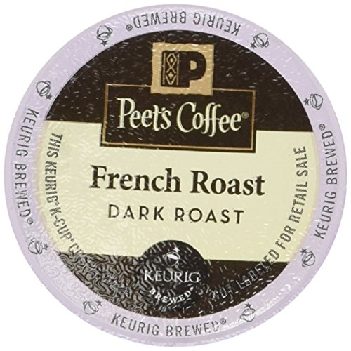 Peet's Coffee French Roast Single Cup Coffee for Keurig K-Cup Brewers 40 count (Peets French Roast Coffee K Cups compare prices)