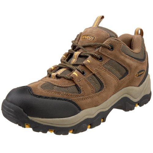 Nevados Men's V4088M Boomerang Lo Hiking Shoe,Brown/Olive/Yellow,7.5 M