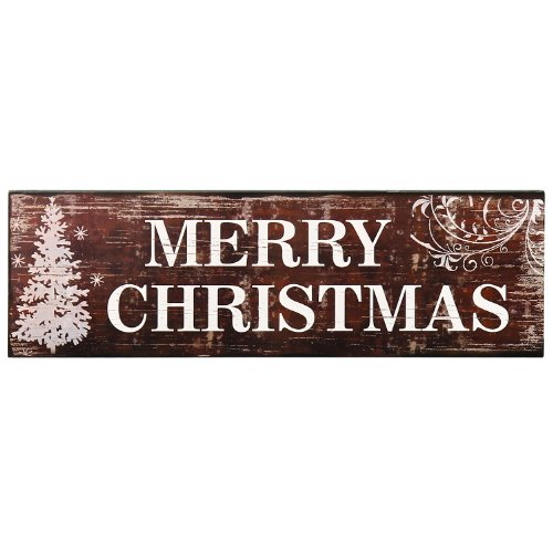 amazoncom adeco sp0127 decorative wood sign plaque home wall art decor saying merry christmasgreat christmas holiday gift home kitchen - Merry Christmas Wooden Sign