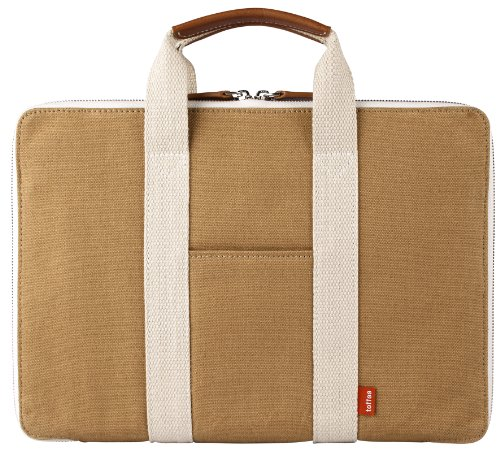 Toffee Bleecker Brief for Apple Macbook Air-Pro-Retina 13.3-inch and some (Bleecker Canvas)