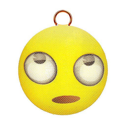 AOMAIS Emoji Bluetooth Speaker, Wireless Portable Ball Speaker with 10W Deep Bass, IPX4 Waterproof丨Built-in Mic丨12H Playtime丨Bluetooth V4.2丨TWS Pairing, Perfect for Home Party, Outdoors, Pool
