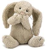 Jellycat 毛绒玩偶 BASHFUL害羞系列之邦尼兔 卡其色中号高31cm