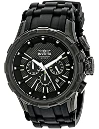 Men's 16974 I-Force Analog-Display Quartz Black Watch