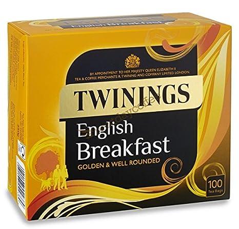 Twinings Inglés Desayuno de Cuerda y bolsas de té con ...