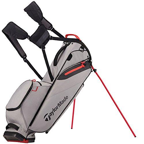TaylorMade FlexTech Lite Golf Bag Gray/Red