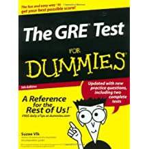 The GRE Test For Dummies (GRE CAT  FOR DUMMIES)