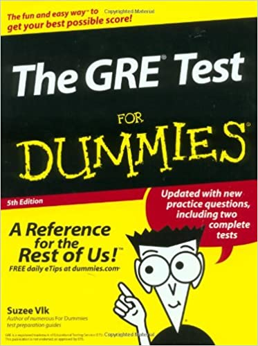 Buy The GRE® Test For Dummies® (GRE CAT FOR DUMMIES) Book Online at