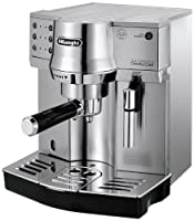 DeLonghi EC 860.M Espresso-Siebträgermaschine (1050 Watt) silber