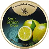 Cavendish & Harvey Sour Lemon Candy - Imported from Germany - 7oz/200g (1 Pack)