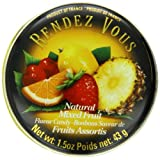 Rendez Vous Mixed Fruit, 1.5-Ounce Tin (Pack of 12)