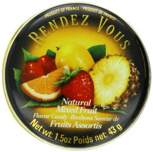 Rendez Vous Mixed Fruit, 1.5-Ounce Tin (Pack of 12)]()