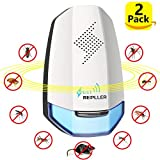 QuanlityFirst Ultrasonic Home Pest Repeller Electronic Pest Control (2 Pack) Pest Repeller for Mouse,Mice,Bug,Rats,Ants,Roach only 2018-Upgrade