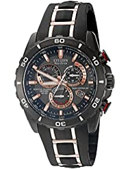 Citizen Eco-Drive Mens AT4029-01E Perpetual Chrono A-T Watch
