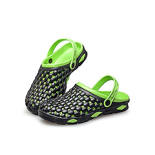 Slippers Men's Beach Green Breathable Clogs Garden Eastlion Sandals Summer nzT6wqqx7