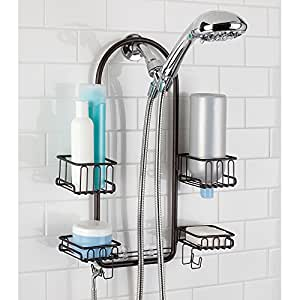 Amazon.com: mDesign Handheld Shower Head Shower Caddy