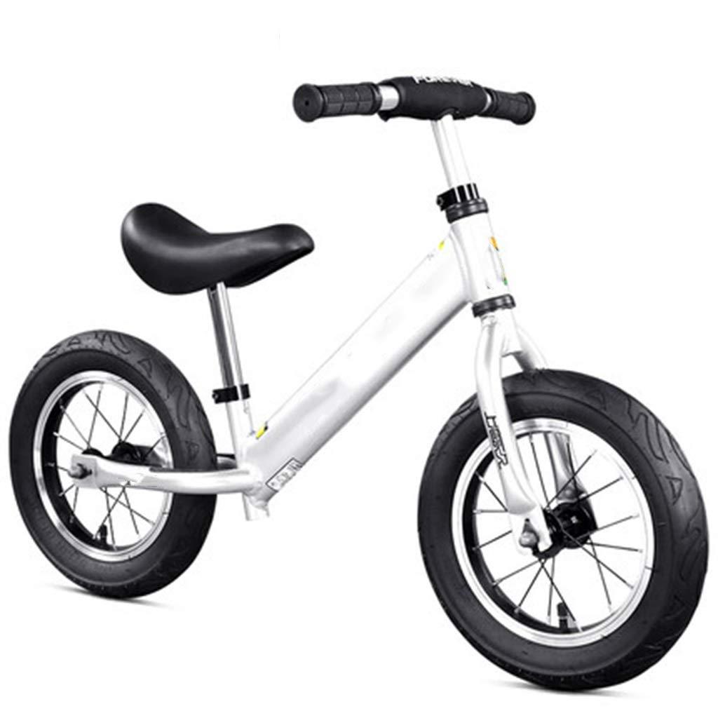 perfecto Bicicletas Bicicletas Bicicletas sin pedales Bicicleta equilibrada,, Bicicleta Ligera for Caminar Ajustable de Aluminio, Adecuada for niños de 2 a 6 años 12 Pulgadas ( Color   plata )  online al mejor precio