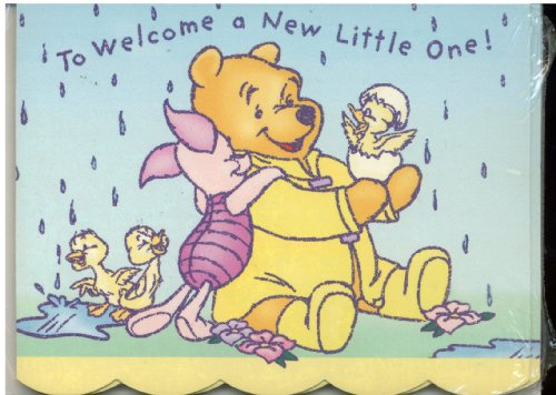 Walt Disney's Classic Winnie The Pooh Baby Shower Invitations 8 Pack With Envelopes - Cards Feature Winnie the Pooh and ()