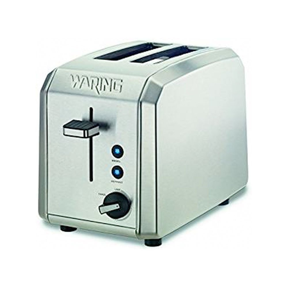 Waring WT200FR Professional 2-Slice Toaster, Brushed Stainless Steel (CERTIFIED REFURBISHED)
