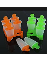 Acquisition 1 Piece 6 Cell Frozen Ice Cream Pop Mold Popsicle Maker Lolly Mould Tray Pan Kitchen DIY lowestprice