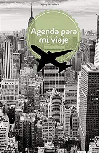 Agenda para mi viaje: nycolor (Spanish Edition): Susana ...