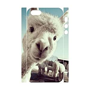 3D Bumper Plastic Customized Case Of Lama Pacos for iPhone 5,5S