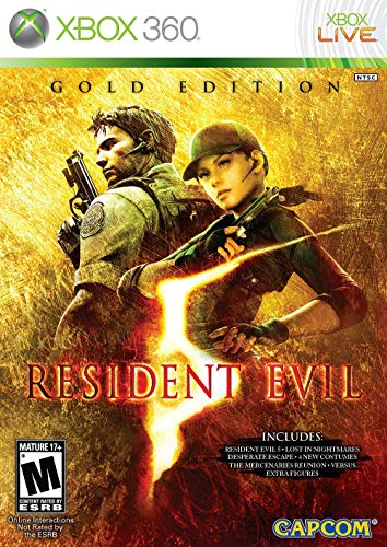 Resident Evil 5: Gold Edition - Xbox 360 (Renewed)