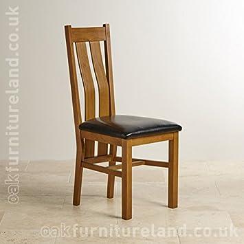 Dos Arrondi En Chene Massif Rustique Style Chaise De Salle A Manger
