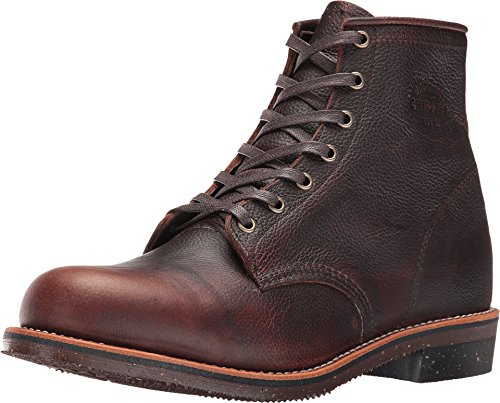 Chippewa Men's Service Boot Briar Pitstop Boot (Apache Boots Chippewa)