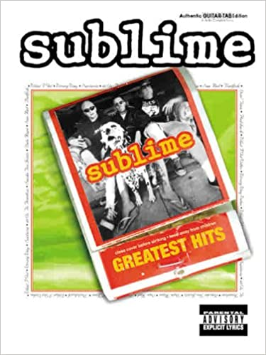 Amazon Sublime Greatest Hits Authentic Guitar Tab
