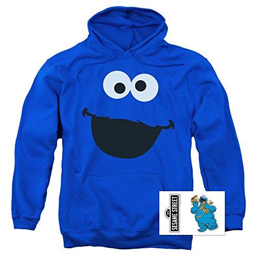 Sesame Street Character Pull-Over Hoodie Sweatshirt