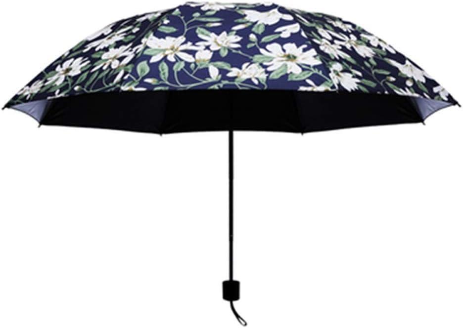 LIZCX Umberllas Compact Travel Umbrella Windproof Waterproof Stick Umbrella AntiUV Protection Golf Umbrellas Lightweight