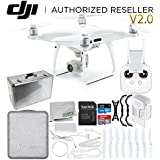 DJI Phantom 4 Pro V2.0/Version 2.0 Quadcopter Starters Aluminum Case Bundle