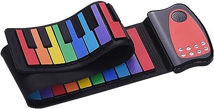 Feixunfan Piano Enrollable Piano Infantil Teclado Plegable ...