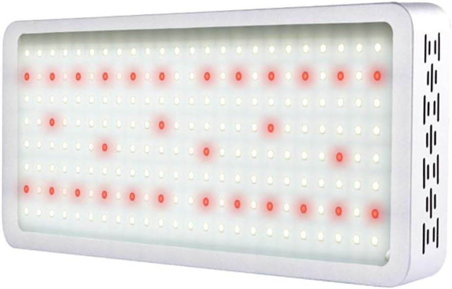 Las Plantas LED De Interior Crecen Y Brillan, Espectro Completo 1000w Invernadero Cultivar Iluminación Luz De Relleno, CA 110-240 V (V)