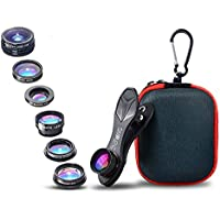 SimpLenz 7 in 1 Clip On Cell Phone Camera Lens Kit | For...