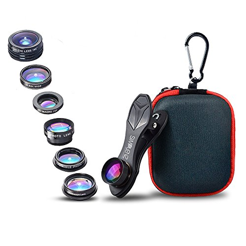 Cheap Lens Attachments SimpLenz 7 in 1 Clip On Cell Phone Camera Lens Kit |..
