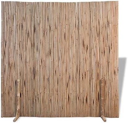 vidaXL Panel de Valla de Bambú Marrón 180x170 cm Separador de Espacios Jardín: Amazon.es: Hogar