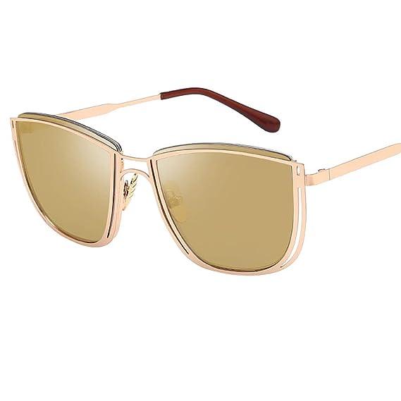 Qingsiy Gafas de sol de Moda Estilo retro polarizadas Hombre ...
