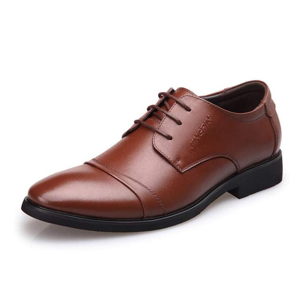 Zfafn Herren Business Schuhe Lederschuhe Rindleder Anzugschuhe