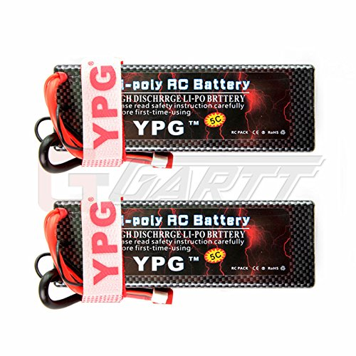 gartt-2-packs-ypg-5200mah-74v-60c-2s-lipo-battery-hard-case-with-dean-style-t-connector-for-rc-car-b