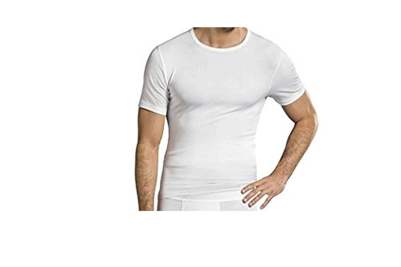 Jockey Premium Cotton T-Shirt 4er Pack - Unterhemd in S bis 2XL - Spürbar angenehme Premiumqualität in merzerisierter Baumwolle