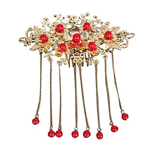 Ancient Chinese Dragon (Vintage Bridal Tiara Chinese Ancient Costume Headdress Wedding Jewelry-B1)
