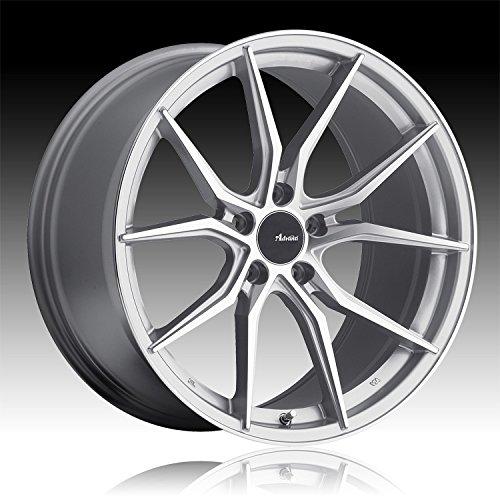 Advanti Racing Hybris 19 Silver Wheel / Rim 5x112 with a 45m